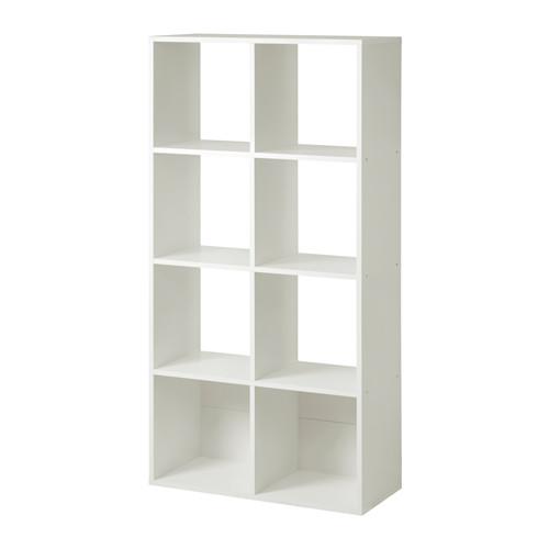 The ubiquitous IKEA Bitrade 2x6 shelf.